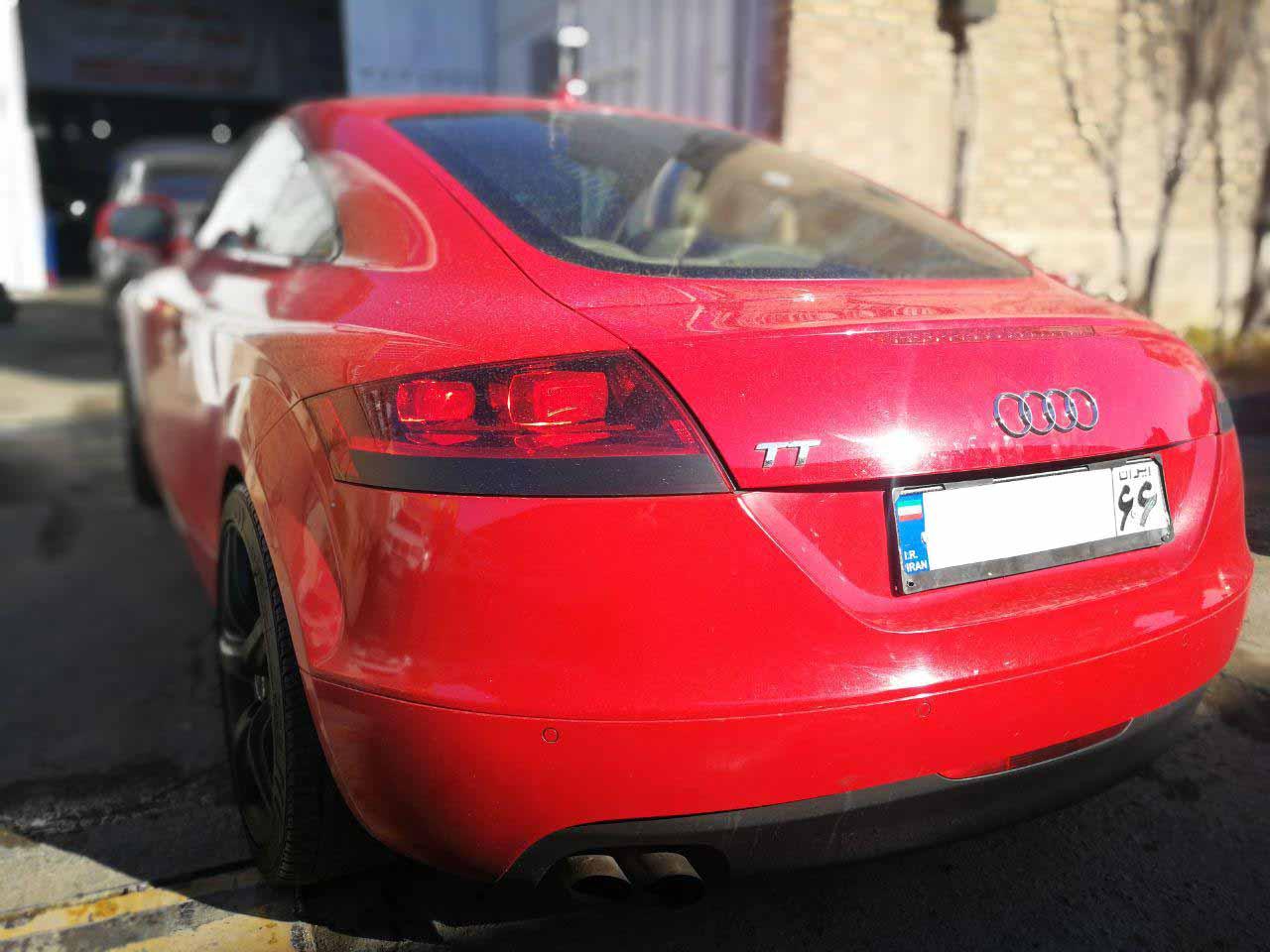 تعمیر گیربکس اتوماتیک آئودی TT DSG quattro
